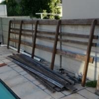 Balau railings
