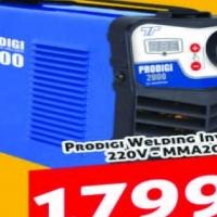 Welding Inverter Prodigi Welding Inverter 220V - MMA200 @ R1799.90