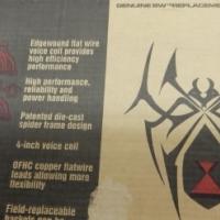 Black Widow 16'' Speakers