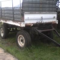 Tractor trailer, heavy duty