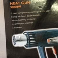 Stramm 2000w heat gun brand new