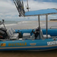 5.2m manta fishing duck