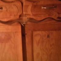 free standing Pine cupboard  urgent