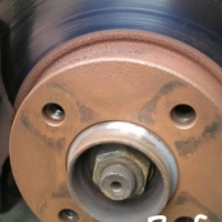 Brake disc skimming