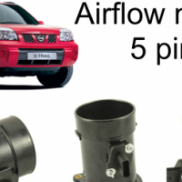 NISSAN XTRAIL AIRFLOW METER 22680-CA000 5 PINS NOW IN STOCK