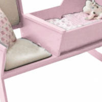 NEW Baby Rocking Cot with  Cushioned Seat