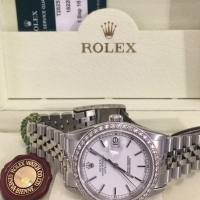 PRE-OWNED GENTS ROLEX WITH 22 MONTH ROLEX WARRANTY
