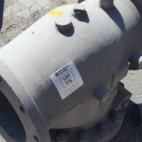 DN300 Flanged T Piece Pipe Connector