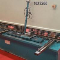 hydraulicsteelguiilotine/shearingmachine10mmx3200mmusedforsalecontactbruce