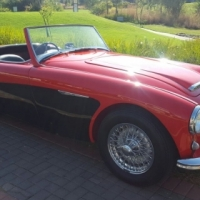 1958 Austin Healey 100/6 BN6 Two seater