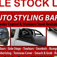 Specials now on Nudges, Rollbars, Steps and Covers - Call us today!
