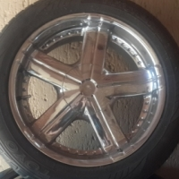20 inch mags with good tyres in great condition