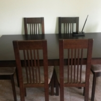 Dining room 6 seater