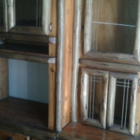 3 Piece Solid Wood Wall Unit