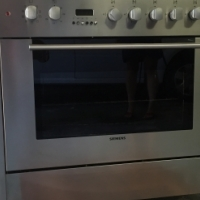 Gas and Electric Siemens stove