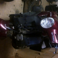 100 cc Puzey scooter for sale