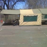 Gypsey Tent Trailer for sale