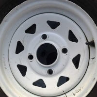 """12"""" rims for nissan 1400"""