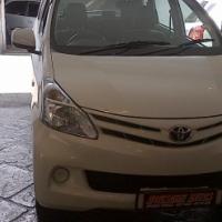 2012 Toyota Avanza 1.5SX With Amazing 61 000Km's,