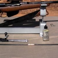 RIFLE STAND - ADJUSTABLE GUN RES