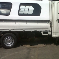 BRAND NEW KIA 2700/HYUNDAI H100 WHITE CANOPY WITH ROOF RACKS FOR SALE!!!