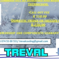 Treval Cooling - IMR Services Group Fridge, freezer and home air conditioner repairs and regassing