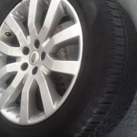 One 20 inch original Range Rover Sport Mag with Continental 275/40/20 tyre