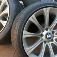 18 INCH BMW M5 rims and tires ON SALE ,ONLY R 3950