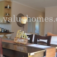 Freestanding three bedroom home with double garage in Parklands
