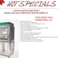 10 PAN CONVECTION OVEN