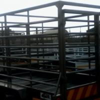 3.5m cattle trailer on sale.hook&go.