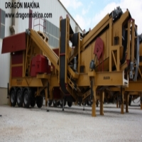 ChassisNew Generation Mobile Crushing and Screening Plant Closed Circuit Type  Dragon 10