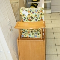 Pre-Loved Wooden High Chair that Converts into a Table & Chair