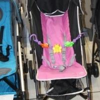 Pre-Loved Kiddies Pink Stroller