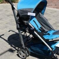 Pre-Loved Chicco Blue Stroller