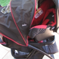 Camping Cot with Carry Cot and Pram with Car Seat For Sale