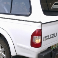 BRAND NEW ISUZU 2005-2013 DC WHITE GO BIG CANOPY FOR SALE!!!