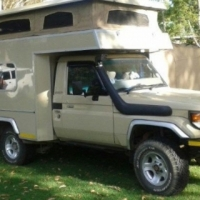 Toyota Land Cruiser Fully customised
