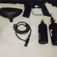 tipmann bravo one elite paintball gun