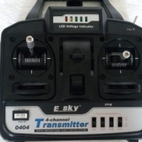 Remote Control for helicopter - E sky.