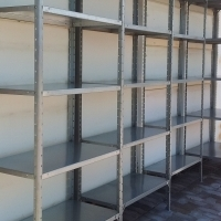 NEW UNASSEMBLED BOLT AND NUT SHELVING