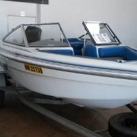 Glastron 17ft, Outboard motor, 150 Horse Power
