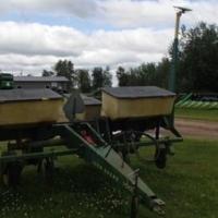 4 row John Deere Corn planter