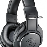 AUDIO TECHNICA M20X PROFESSIONAL STUDIO HEADPHONES
