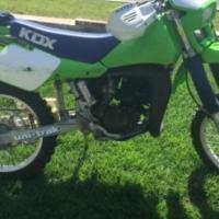 Its for good Sport Motor Kawasaki Kdx 200 for 2015
