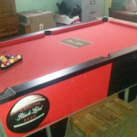 Black Label Pool Table (Krugersdorp)