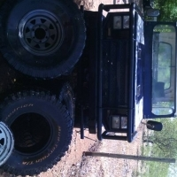 Chev nomad projek