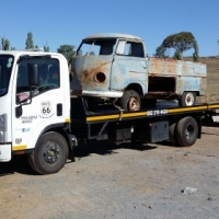 Car Transport PTA to BLOEMFONTEIN on rollback truck.