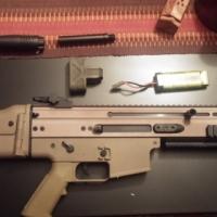 dboys scar h tan airsoft gun