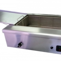 Stainless steel Deep fryer 20 l and Spiral potato cutter